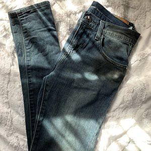 Levi's skinny boyfriend jeans